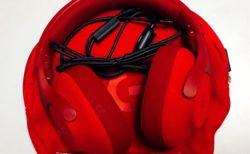Logicool G G433RD ノイズキャンセルヘッドホン+マイク付き 真っ赤なヘッドホンを買いました。ケースがかっこよかったので。