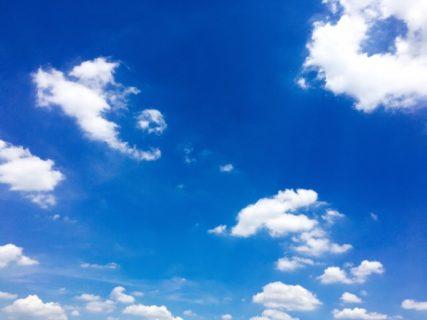 今日の空を記しておこう。2019Aug07