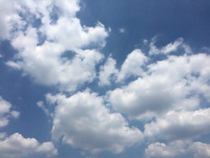 今日の空を記しておこう。2019Aug09
