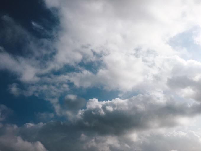 今日の空を記しておこう。2019Aug14