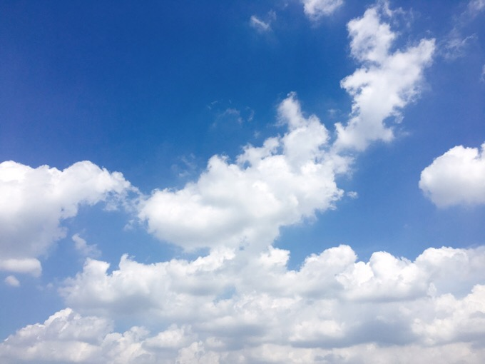 今日の空を記しておこう。2019Aug24