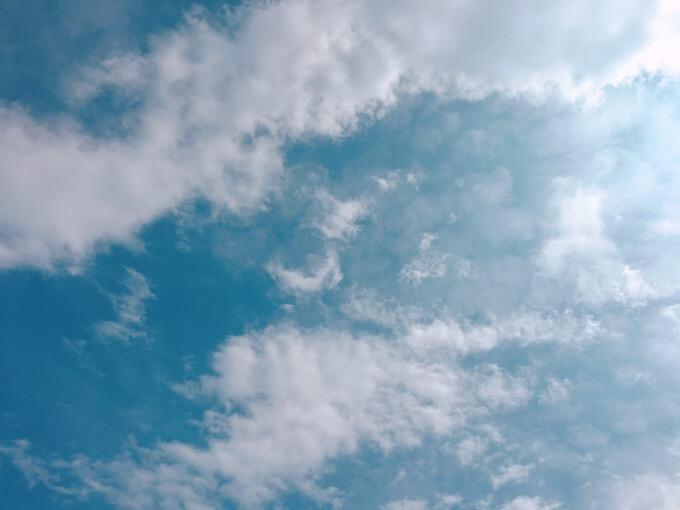 今日の空を記しておこう。2019Aug29
