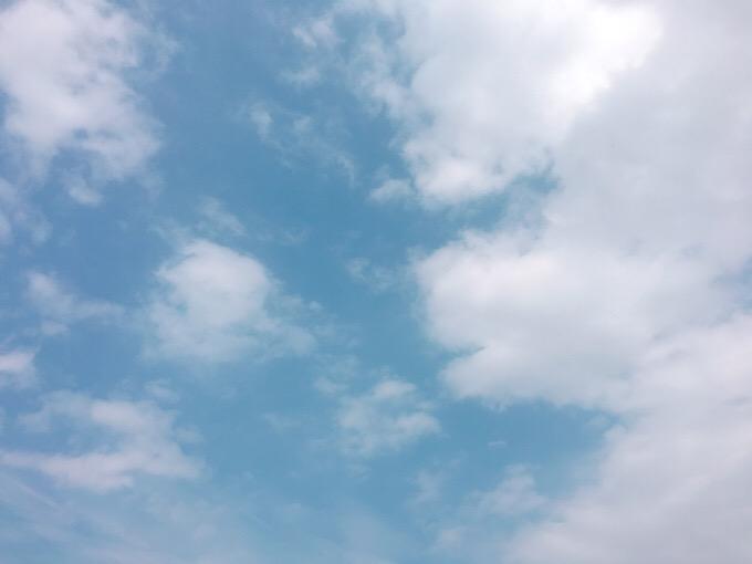 今日の空を記しておこう。2019Sep01
