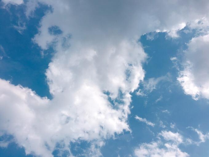 今日の空を記しておこう。2019Sep02