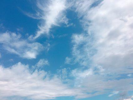 今日の空を記しておこう。2019Sep12