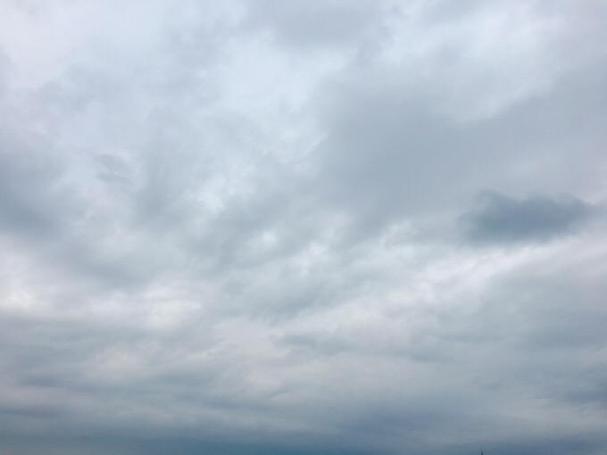 今日の空を記しておこう。2019Sep13