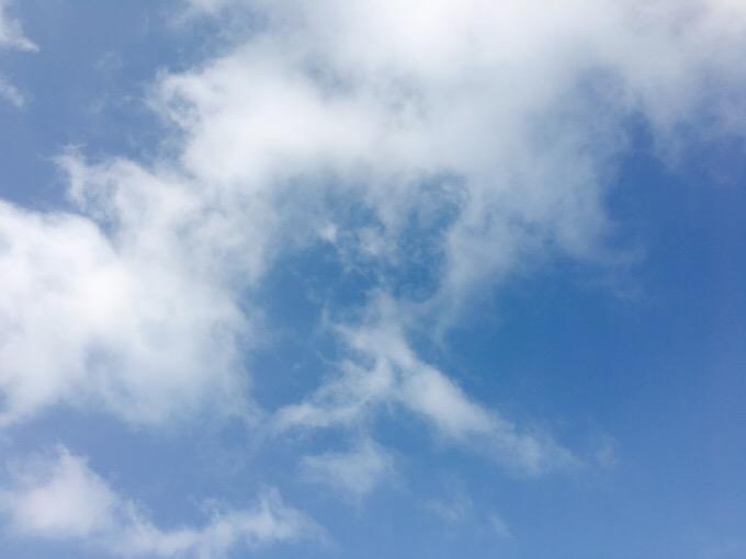 今日の空を記しておこう。2019Sep17
