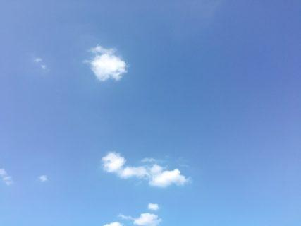 空を見上げて見るけれど。今日の空を記しておこう。2019Sep19