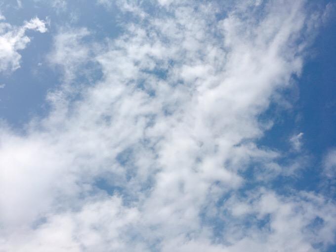 今日の空を記しておこう。2019Sep25