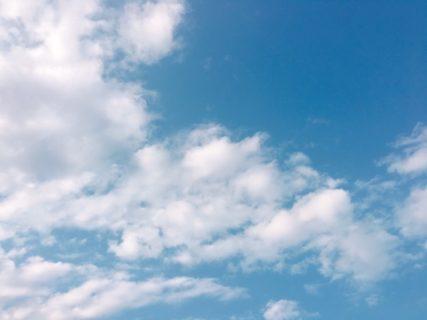 今日の空を記しておこう。2019Oct05