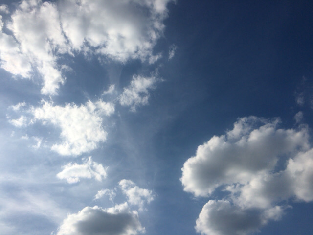 今日の空を記しておこう。2019Oct23