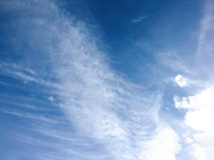 今日の空を記しておこう。2020Feb14