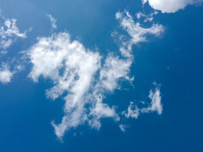 今日の空を記しておこう。2020Mar16