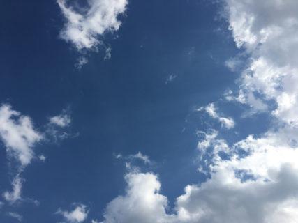 今日の空を記しておこう。2020Apr06