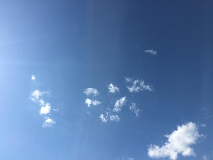 今日の空を記しておこう。2020Apr14