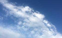 今日の空を記しておこう。2020Apr18