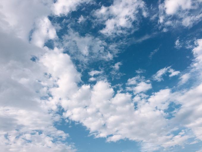 今日の空を記しておこう。2020July05