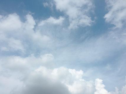 今日の空を記しておこう。2020July22