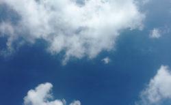 8月です!今日の空を記しておこう。2020Aug01