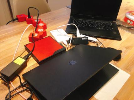 ほぼBack to normal. 通常に戻ります。新しいパソコン。