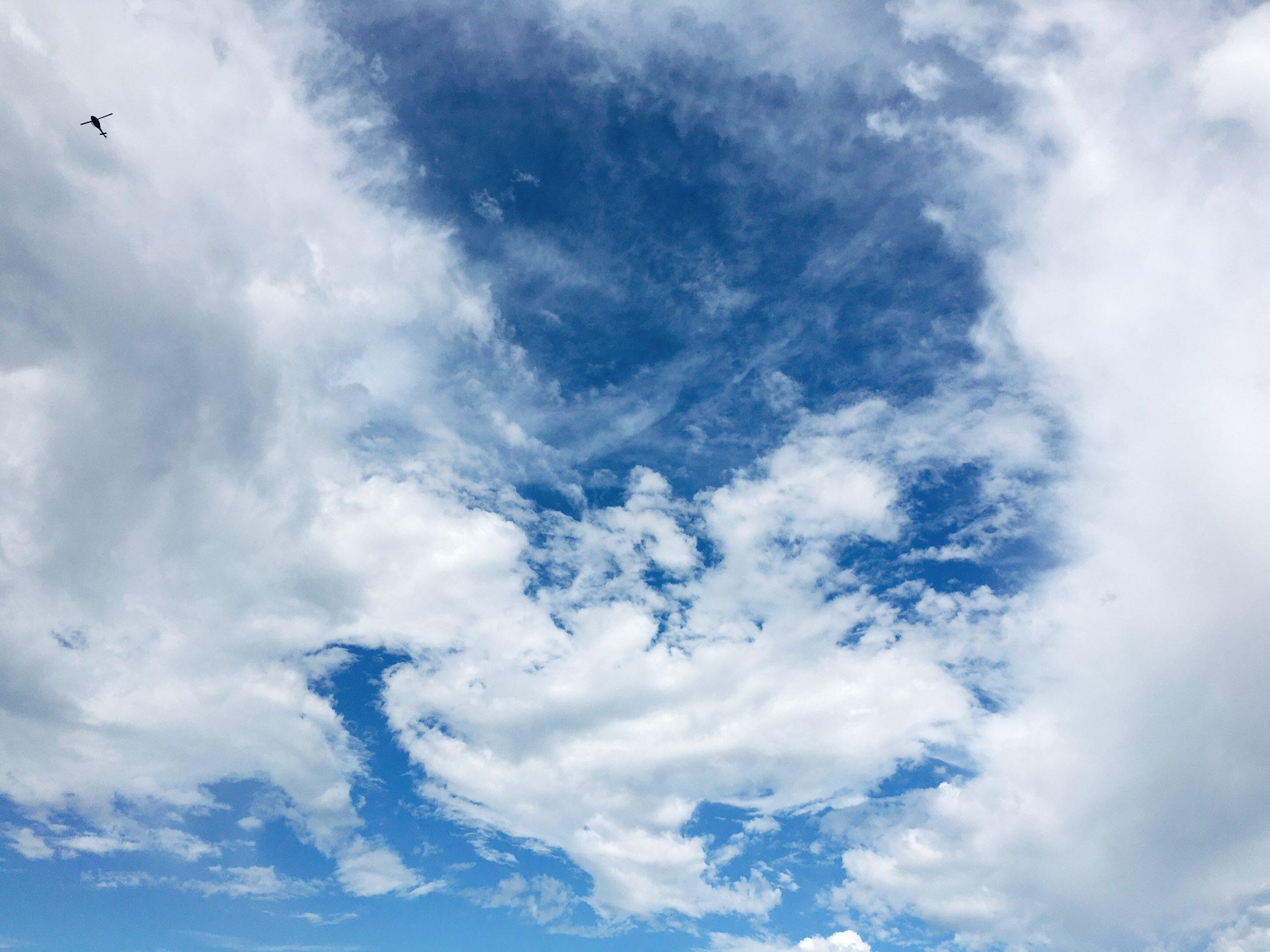 今日の空を記しておこう。2020Sep03