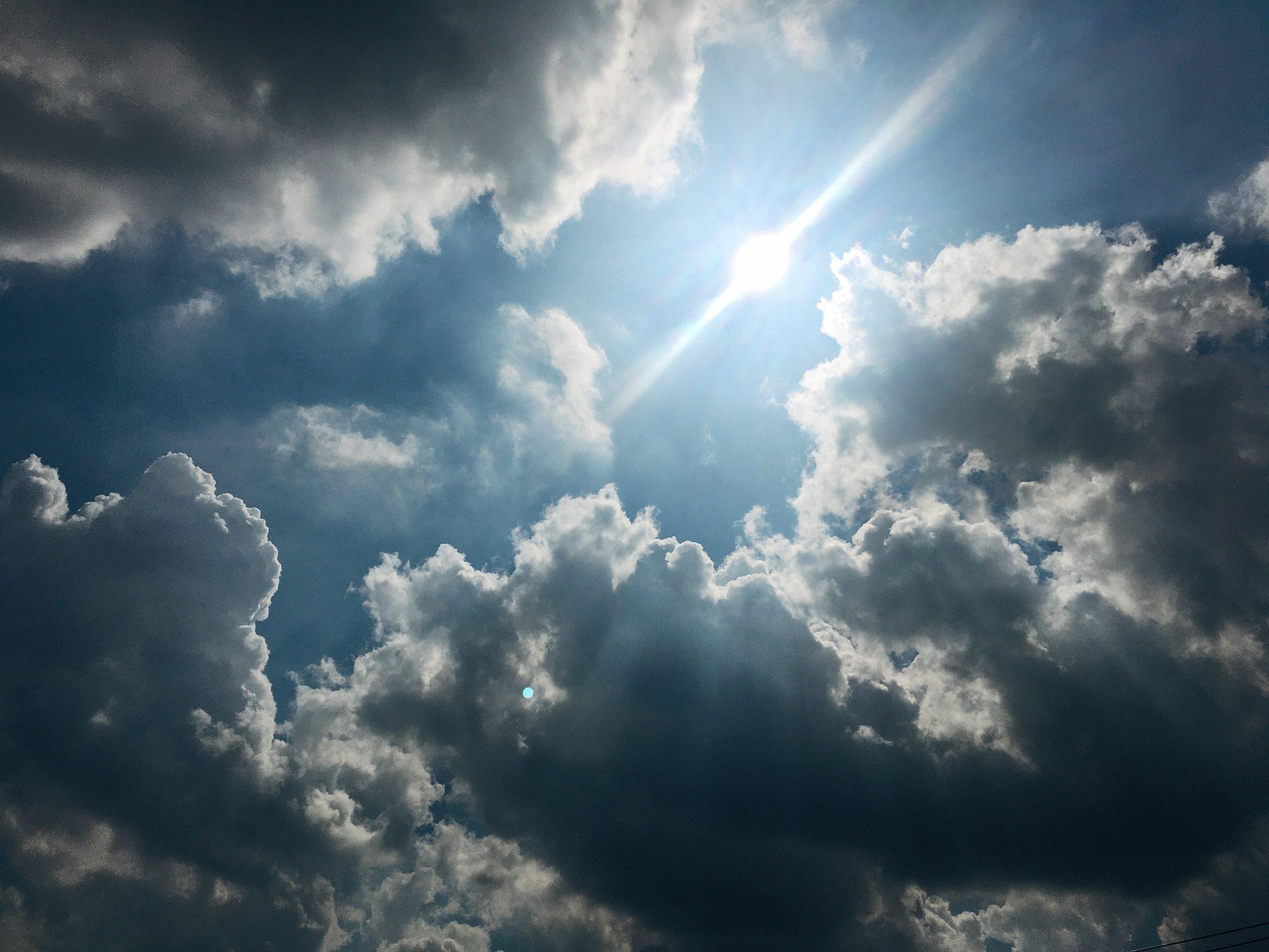 今日の空を記しておこう。2020Sep05