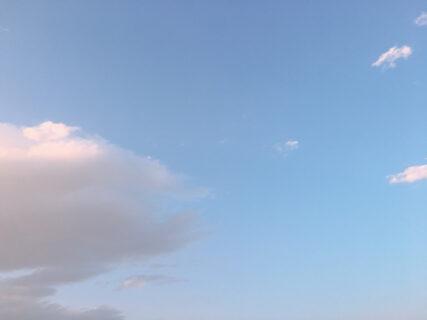 今日の空を記しておこう。2021Apr30