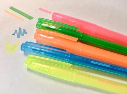 また蛍光ペンを買ってしまった【ダイソー】
