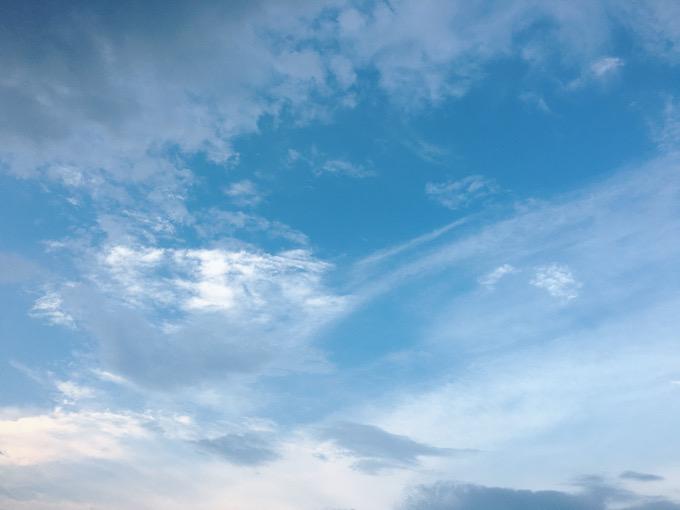 今日の空を記しておこう。2021July13