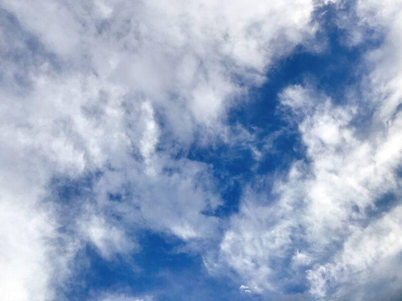 今日の空を記しておこう。2021Aug20