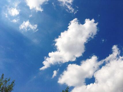今日の空 晴れた9月の空 2021Sep23